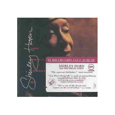 Shirley Horn - You Won't Forget ME (CD) - image 1 of 1
