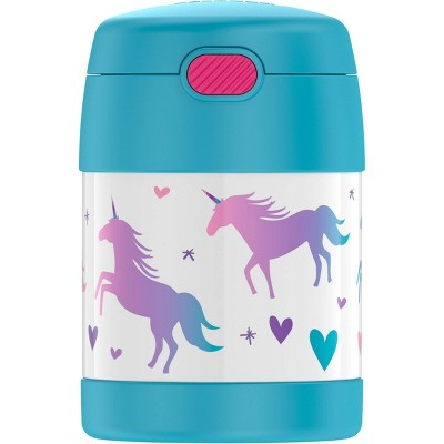 Thermos Unicorn 10oz FUNtainer Food Jar with Spoon - Blue