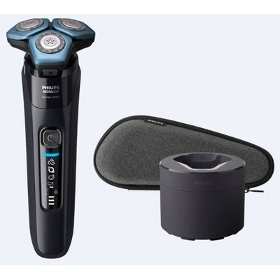 Philips Norelco Series 7500 Wet & Dry Men's Rechargeable Electric Shaver with Smartclean - S7783/84