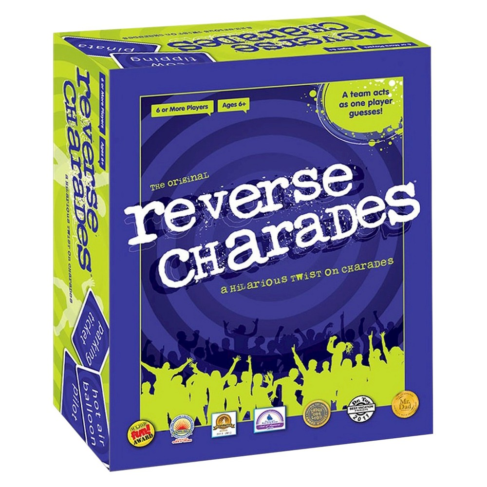 Reverse Charades Game, Board Games