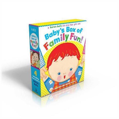 Baby's Box of Family Fun! - by  Karen Katz (Board_book) - image 1 of 1