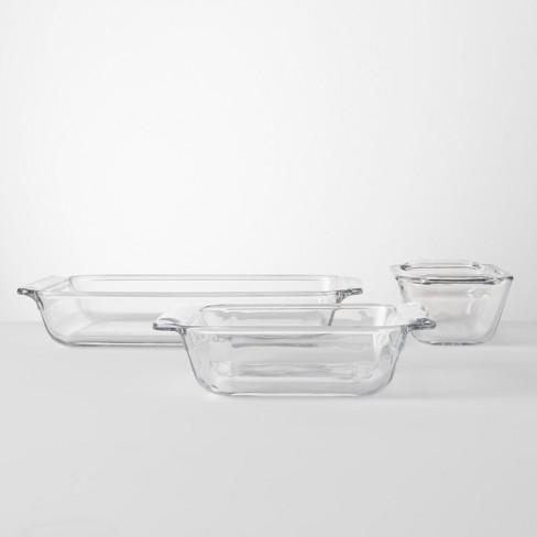 Set Of 3 Bakeware Set Glass Made By Design Target
