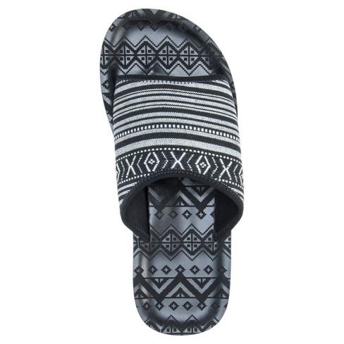 878e42463d64 Men s MUK LUKS® Hendrix Slide Sandals - Black   Target