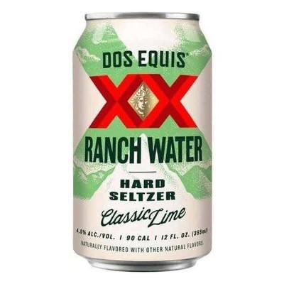 Dos Equis Ranch Water Variety - 12pk/12 fl oz Can