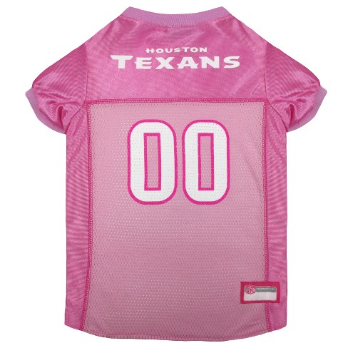 NFL Pets First Pink Pet Football Jersey - Houston...   Target 42db5caf1a30