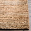 Kathie Solid Knotted Rug - Safavieh - image 2 of 3