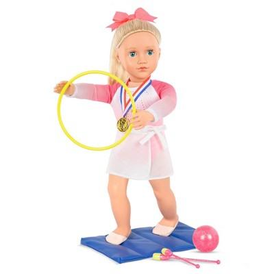 """Our Generation Posable 18"""" Rhythmic Gymnastics Doll - Diane"""