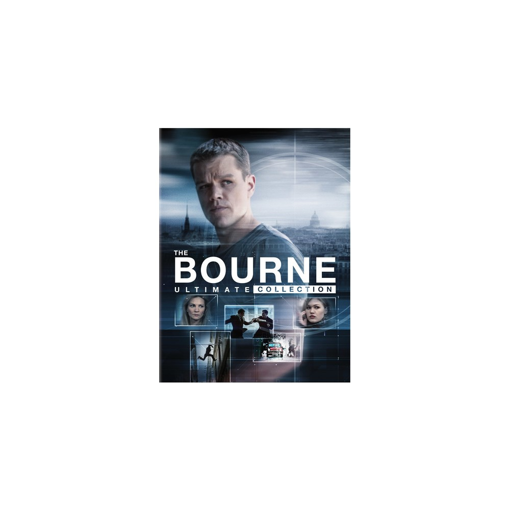 Jason Bourne Ultimate Collection (Dvd)