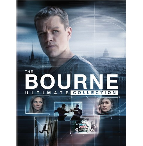 Jason Bourne Ultimate Collection (DVD) - image 1 of 1