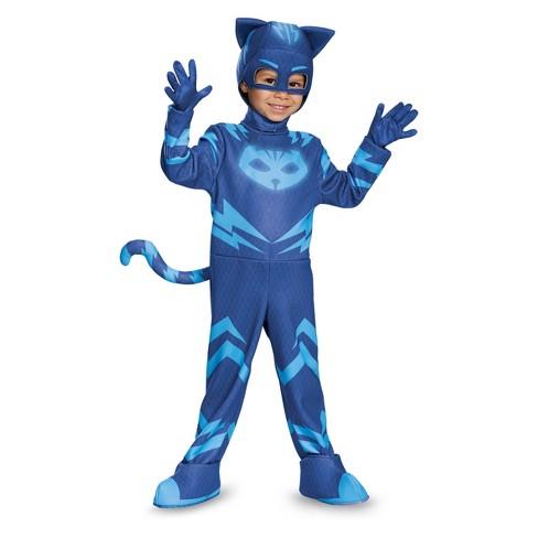 Halloween Costumes For Little Kids | Toddler Kids Pj Masks Catboy Deluxe Halloween Costume Target