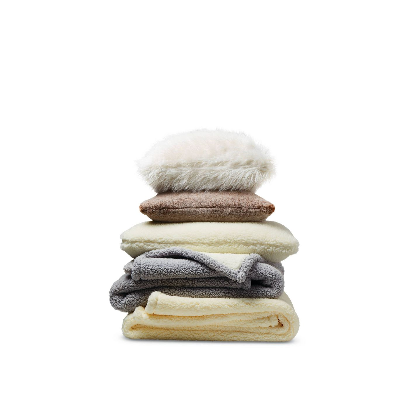 Solid Sherpa Throw Blanket - Threshold™ - image 2 of 2