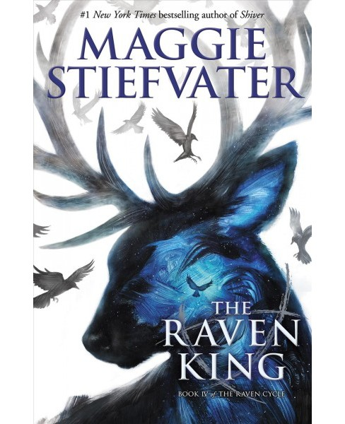 Raven King -  Reprint (Raven Cycle) by Maggie Stiefvater (Paperback) - image 1 of 1