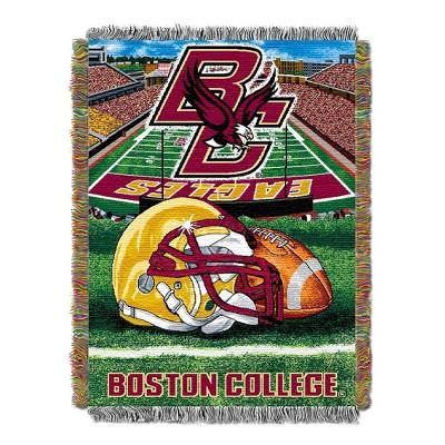Team Color, Logo Boston College Eagles NCAA Frosty Fleece 60 X 50 Blanket