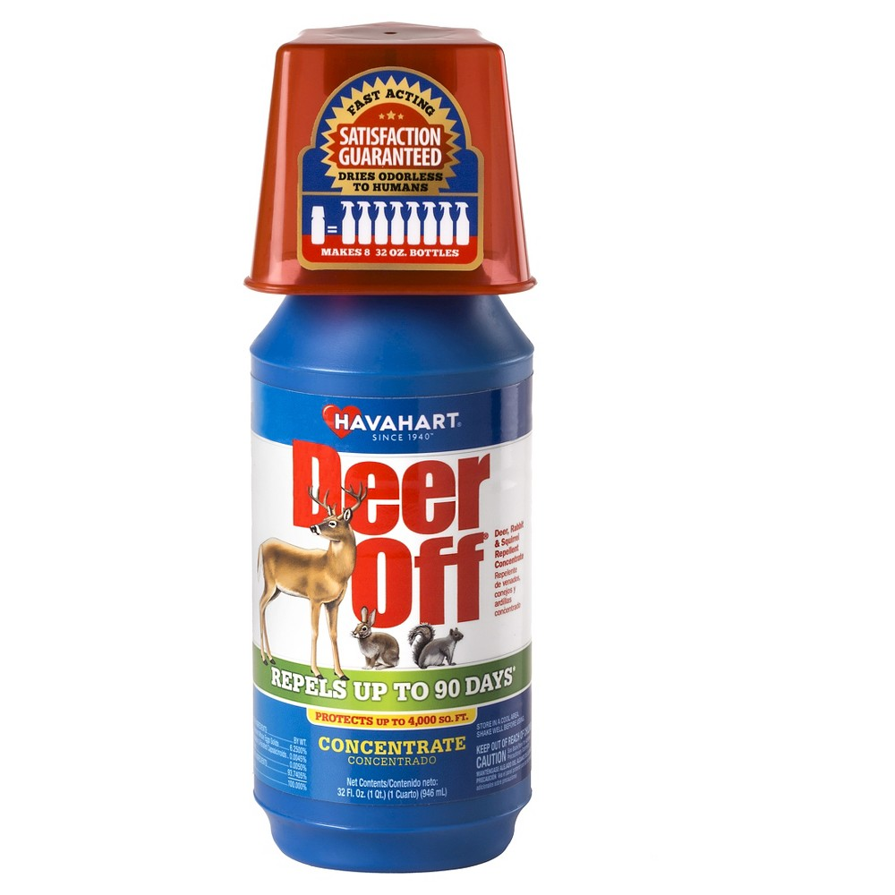 Image of Deer Off 32 oz. Deer, Rabbit and Squirrel Repellent Concentrate - Havahart