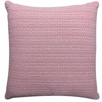 Square Washed Waffle Pillow Blush - Threshold™