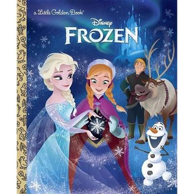 Frozen ( Little Golden Books) (Hardcover) - by Victoria Saxon