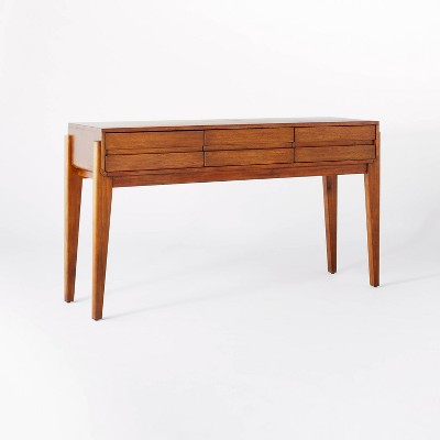 Herriman Wooden Console Table with Drawers - Threshold™ designed with Studio McGee