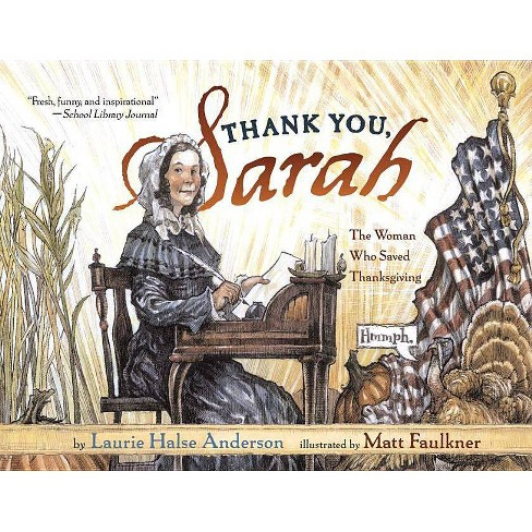 Thank You, Sarah - by  Laurie Halse Anderson (Paperback) - image 1 of 1
