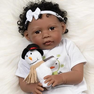Paradise Galleries Reborn Baby Doll Kione, 20 inch Girl in Soft Vinyl & Weighted Body, 8-Piece Set