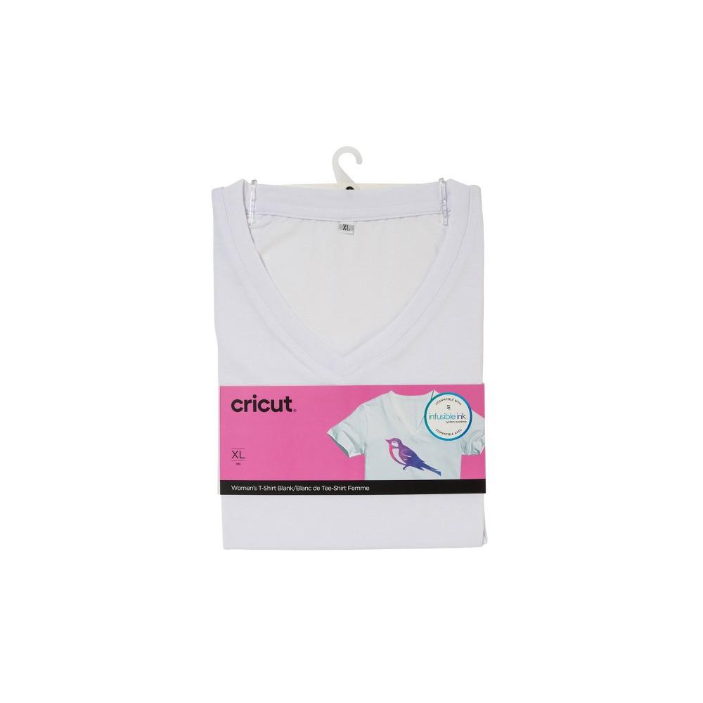 Cricut Women 39 S V Neck T Shirt Xl