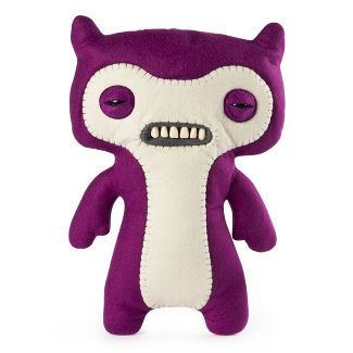"""Fuggler Funny Ugly Monster, 12"""" Lil' Demon Deluxe Plush Creature with Teeth - Purple"""