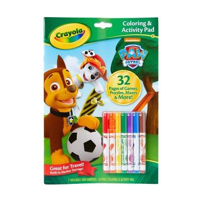 Crayola 32pg Coloring & Activity Pad - PAW Patrol