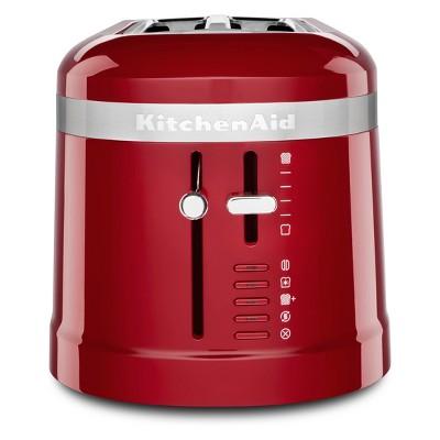 KitchenAid 4 Slice Long Slot Toaster Empire Red - KMT5115ER