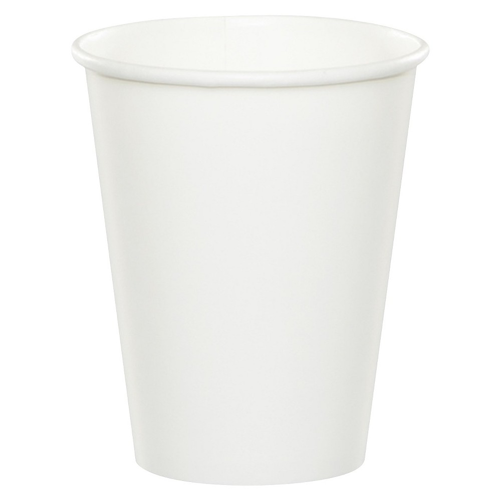 24ct White Disposable Cups Cheap