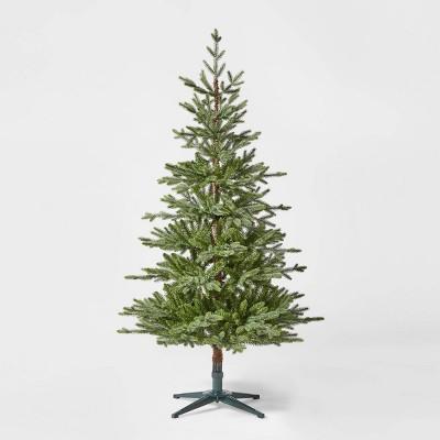 5.5ft Unlit Artificial Christmas Tree Green Indexed Balsam Fir - Wondershop™