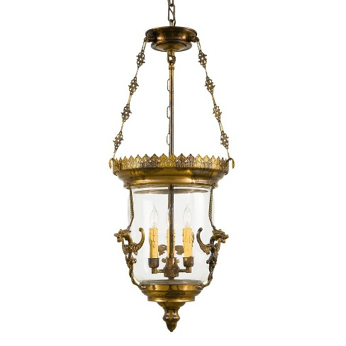 Metropolitan N2336 3 Light Urn Pendant from the Foyer Collection - image 1 of 1
