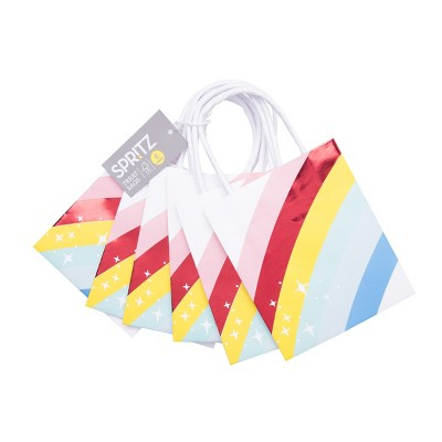 6pk Rainbow Gift Bag - Spritz™