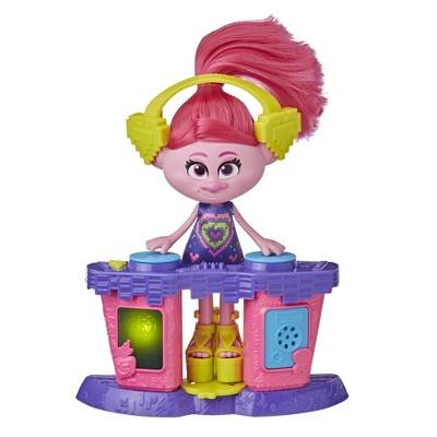 DreamWorks Trolls World Tour Party DJ Poppy Fashion Doll