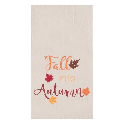 C&F Home Fall Into Autumn Flour Sack Kitchen Towel