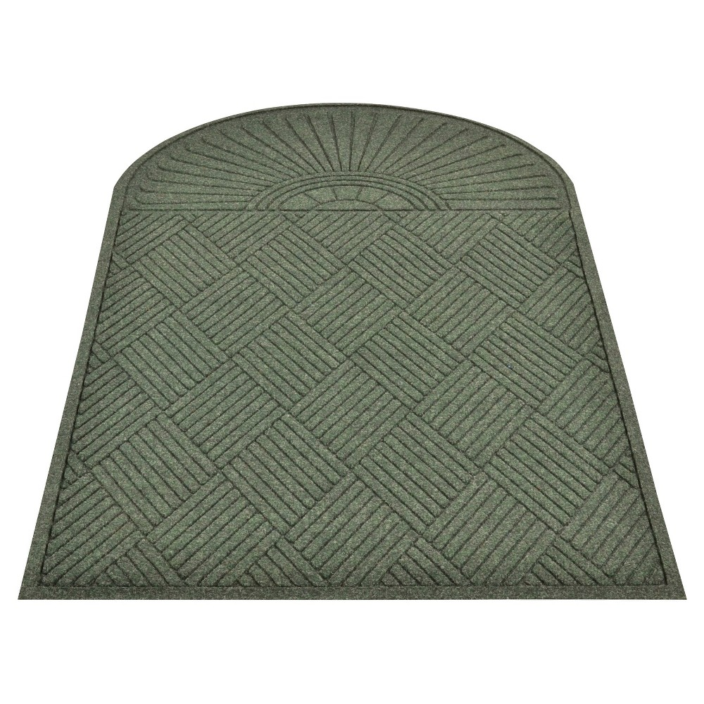 Dark Green Solid Doormat - (3'X5') - HomeTrax
