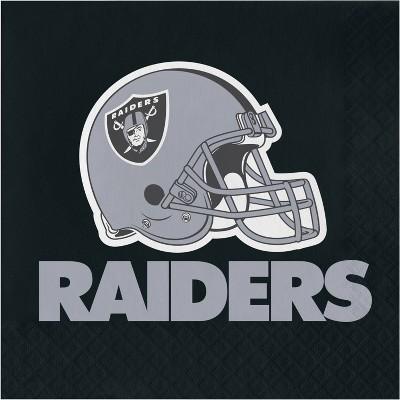 48ct Las Vegas Raiders Football Napkins
