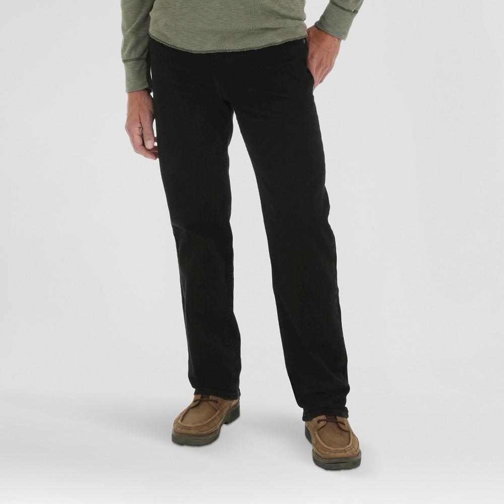 Wrangler Men's Advanced Comfort Regular Fit - Black 40x32
