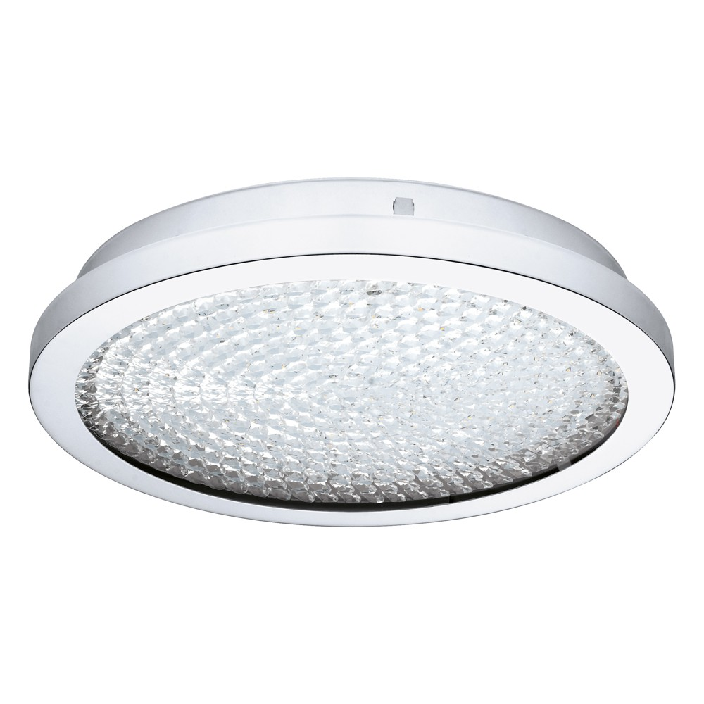 Image of Arezzo 2 LED Flush Mount Ceiling Lights Clear - EGLO