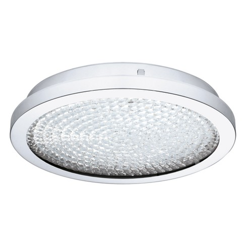 Arezzo 2 Led Flush Mount Ceiling Lights Clear Eglo