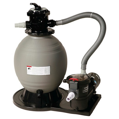 18-in Sand Filter System w/ 1 HP Pump for Above Ground Pools - image 1 of 1