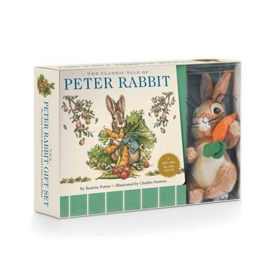 The Peter Rabbit Plush Gift Set - (Classic Edition) by  Beatrix Potter (Mixed Media Product)