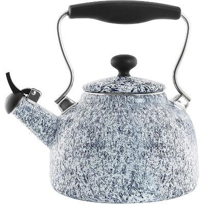 Chantal 37-Vintspt Wb Vintage Splatter Teakettle, 1.7-Quart