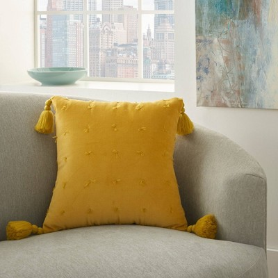 """18""""x18"""" Life Styles Hand Knotted Velvet Throw Pillow - Mina Victory : Target"""