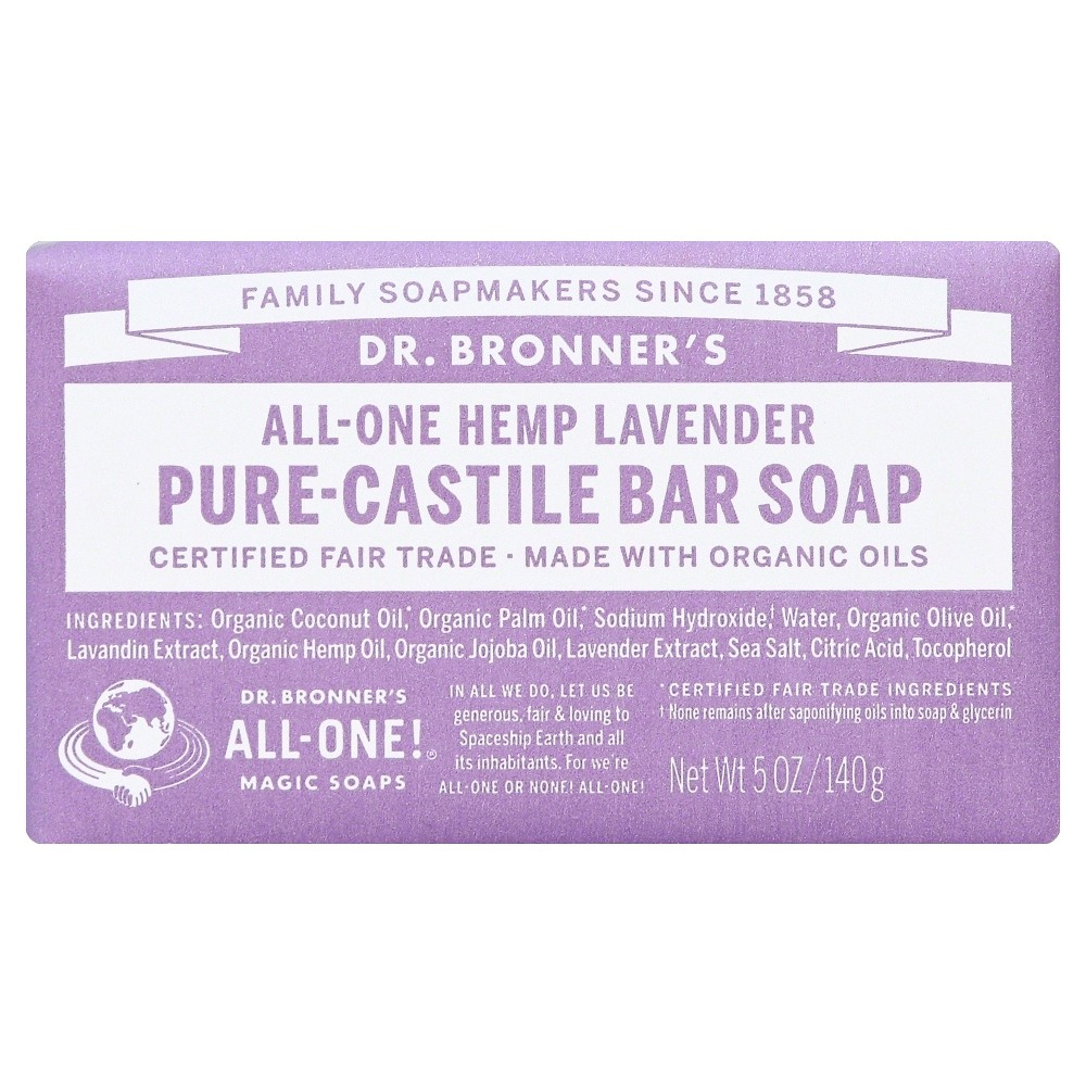Image of Dr. Bronner's Bar Soap - Lavender - 5oz