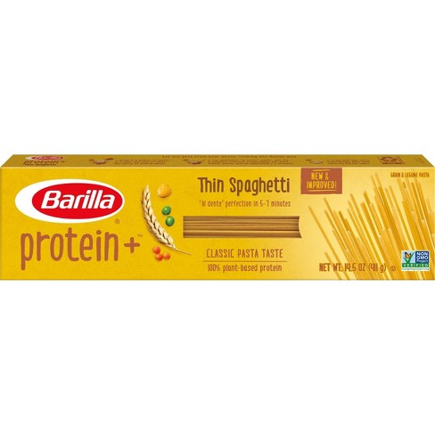Barilla ProteinPLUS Multigrain Thin Spaghetti Pasta - 14.5oz - image 1 of 4