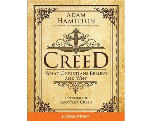 Creed : What Christians Believe and Why (Paperback) (Adam Hamilton) - image 1 of 1
