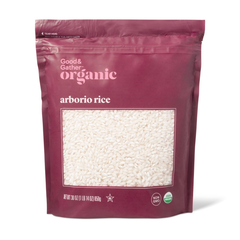 Organic Arborio Rice 30oz Good Gather 8482