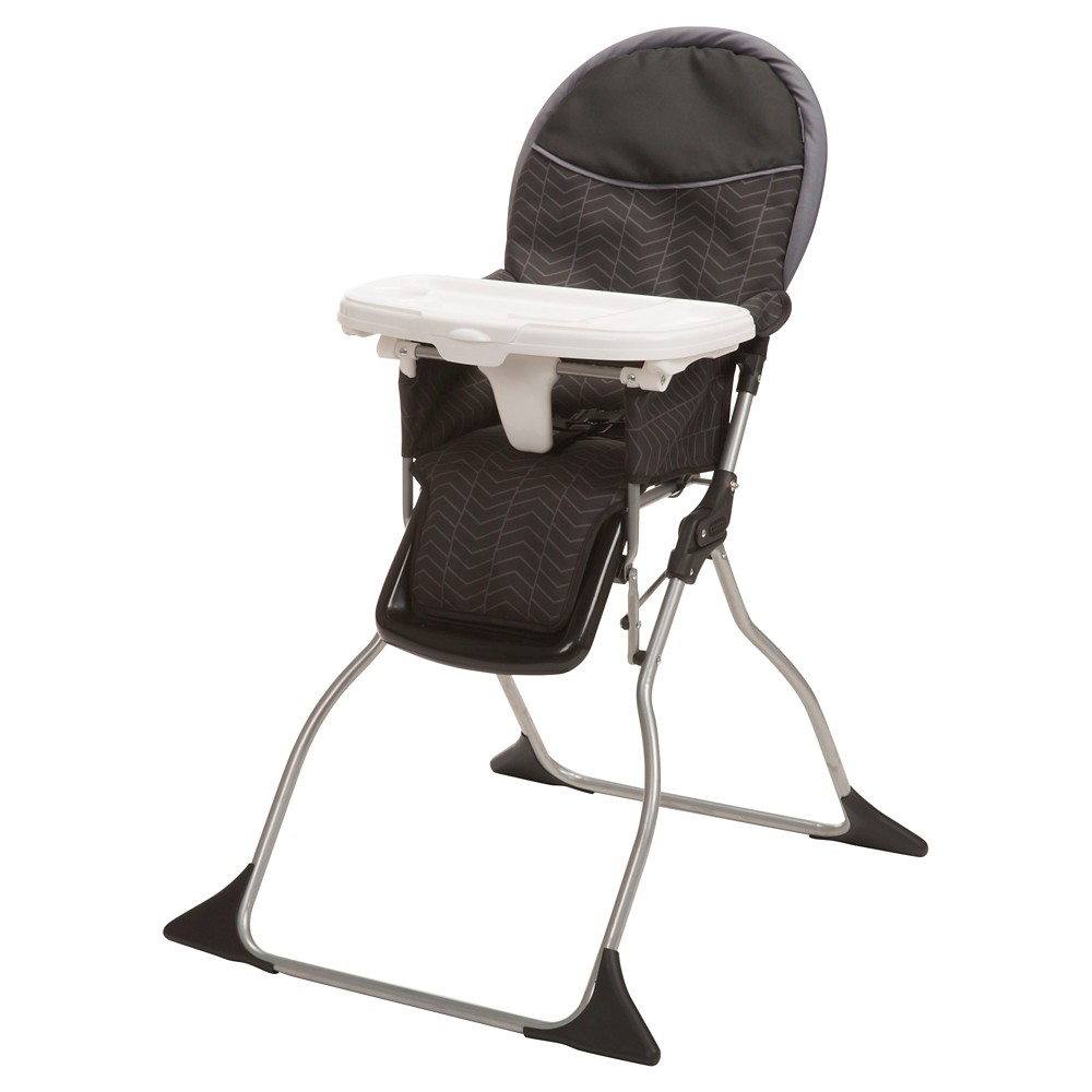 Image of Cosco Simple Fold Deluxe High Chair in Black Arrows