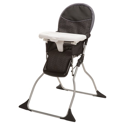 Astounding Cosco Simple Fold Deluxe High Chair In Black Arrows Theyellowbook Wood Chair Design Ideas Theyellowbookinfo