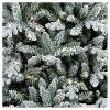 9ft Pre-lit  Artificial Christmas Tree Full Flocked Balsam Fir Clear Lights - Wondershop™ - image 2 of 4