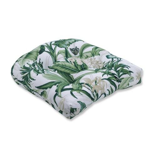 Wailea Coast Verte Wicker Seat Cushion - Pillow Perfect - image 1 of 1